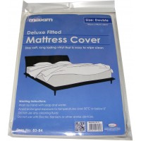 Double Plastic Vinyl Waterproof Mattress Cover Protector