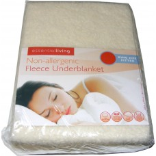 King Size Fitted Thermal Fleece Underblanket Mattress Cover